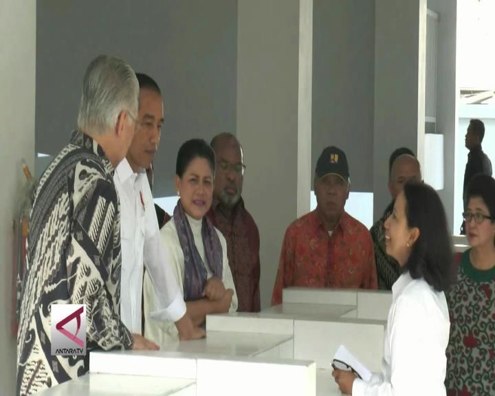 Presiden Tinjau Pasar Mama-Mama Papua