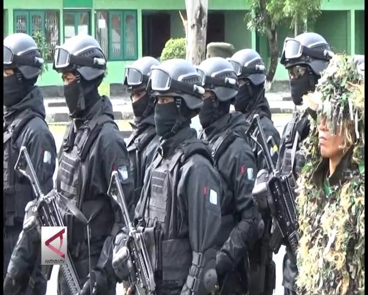 Apel Kesiapan Pasukan Pengamanan di Palu