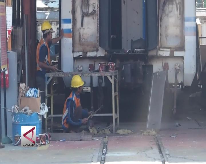 Balai Yasa Surabaya Percepat Perbaikan 31 Kereta