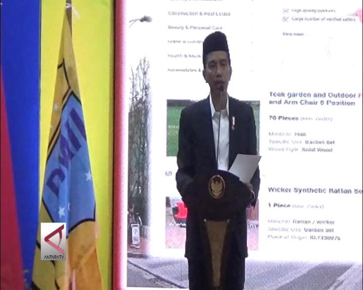 Presiden Jokowi Sampaikan Pesan Damai dari Palu