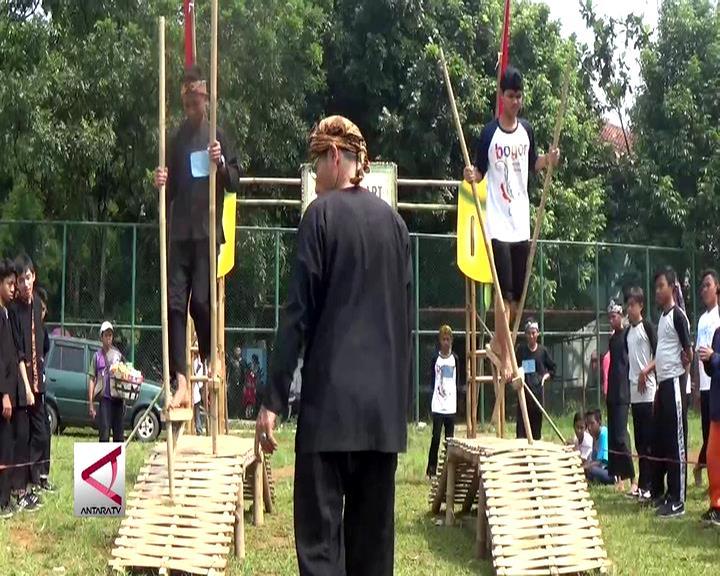 Lomba Permainan Tradisional Lestarikan Budaya Sunda