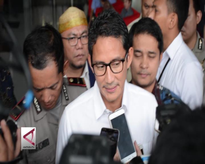 KPK Periksa Sandiaga Uno Sebagai Saksi