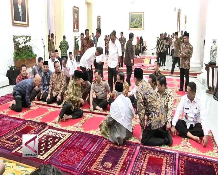 Presiden Gelar Bukber di Istana Bogor