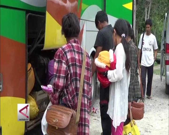 Mudik Gratis Lintas Kabupaten di Sulteng