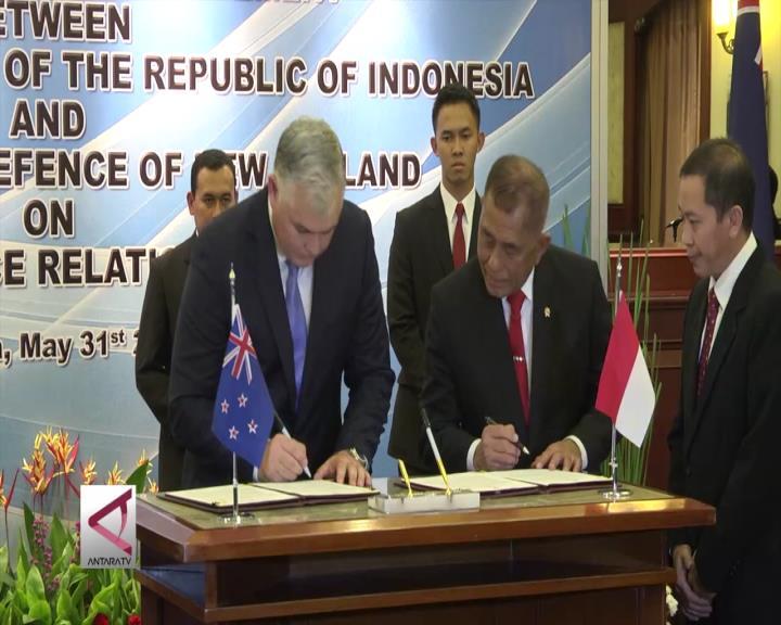 Selandia Baru-Indonesia Jalin Kerjasama Pertahanan