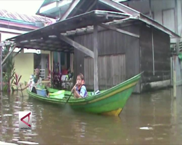 Sungai Barito Meluap, 5 Kecamatan Di Kalteng Banjir