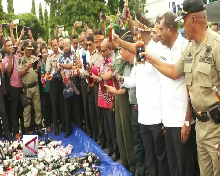 Pemprov Papua Musnahkan Ribuan Miras