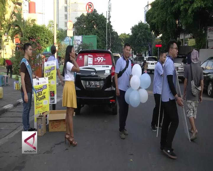 Kampanye Laut Bersih Dari Sampah Plastik