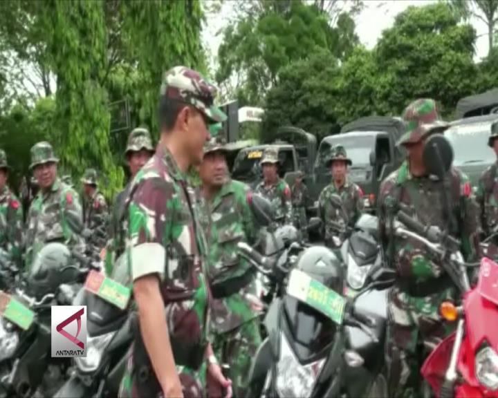 Bencana Intai Kalteng, Apel Gabungan Digelar