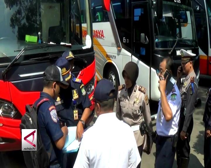 14 Bus dari Tangerang Tidak Layak Jalan