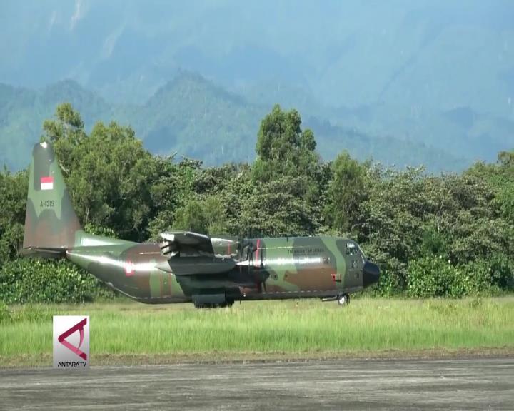 TNI AU Turunkan Hercules Bantu Pemudik