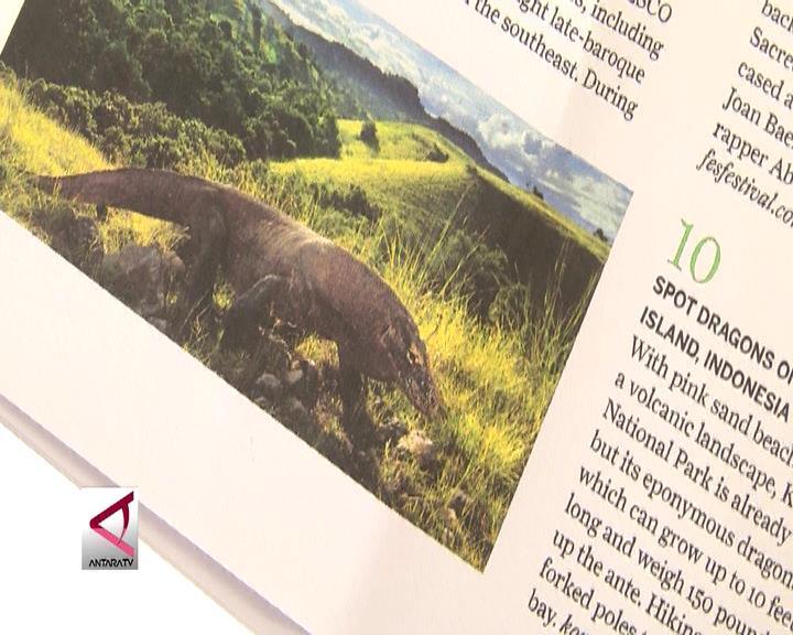 Pulau Komodo Masuk 10 Besar 100 Best Destinations