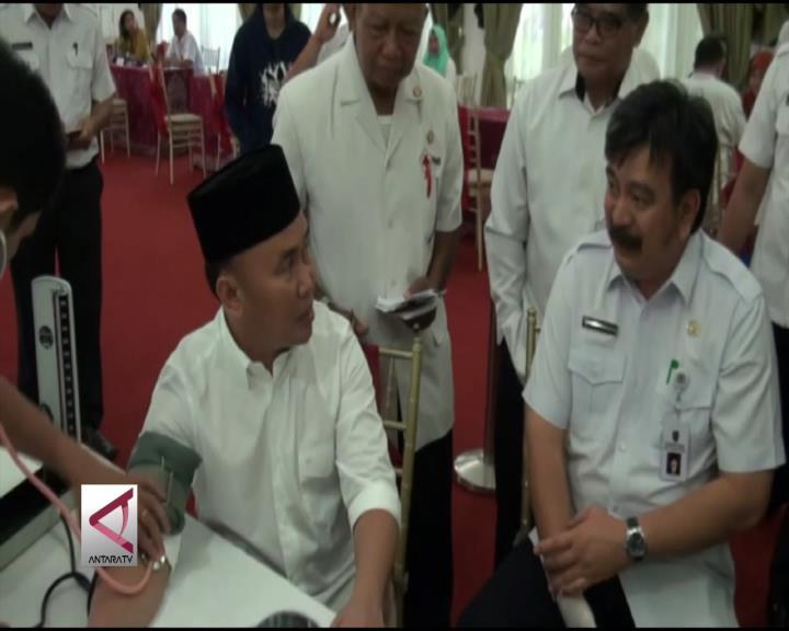 Gubernur Kalteng Gelar Kegiatan Doroh Darah