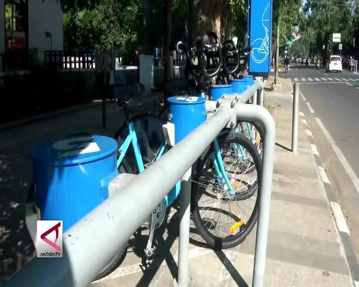 Program Bike Sharing Bandung Mulai Beroperasi