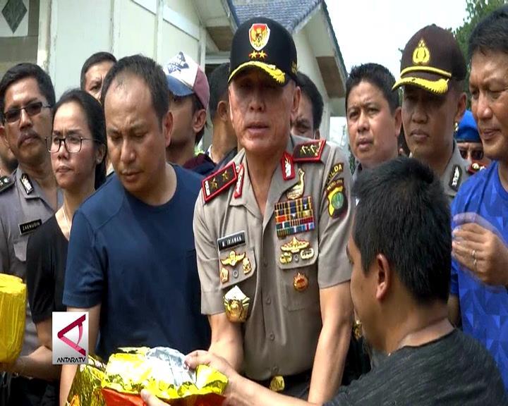 Polisi Gagalkan Penyelundupan 1 Ton Sabu di Anyer