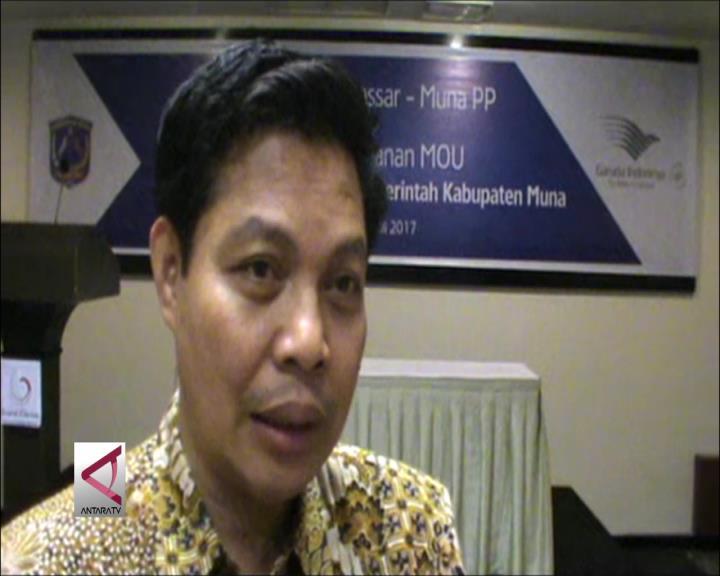 Garuda Buka Rute Baru Makassar-Raha