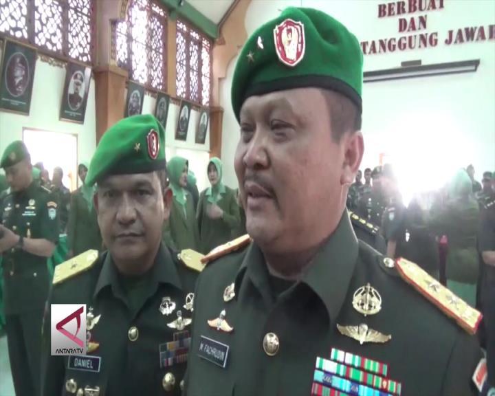 Prajurit TNI Aceh Diminta Siaga Hadapi Situasi Terkini