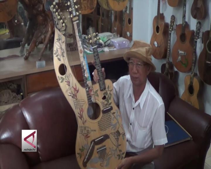 Gitar Elegan Karya Seniman Bali Terus Mendunia