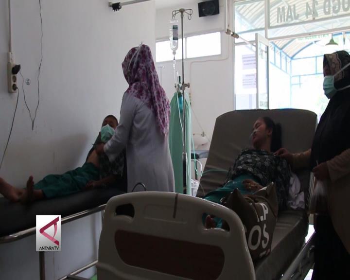 Pelajar MTS di Aceh Barat Pingsan Akibat Kabut Asap