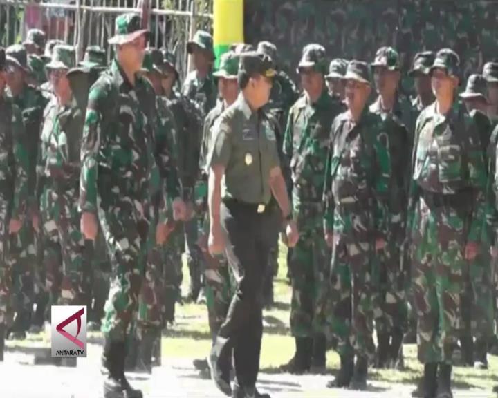 Pemkab, TNI dan Masyarakat Bangun Desa