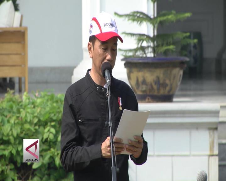 Presiden Lepas Kontingen SEA Games ke Malaysia