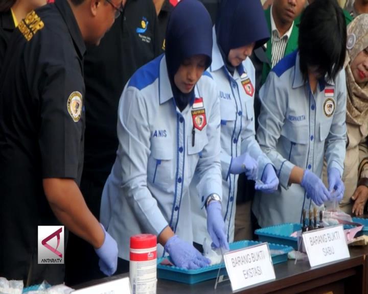 Polrestabes Surabaya Ungkap 161 Kasus Narkoba