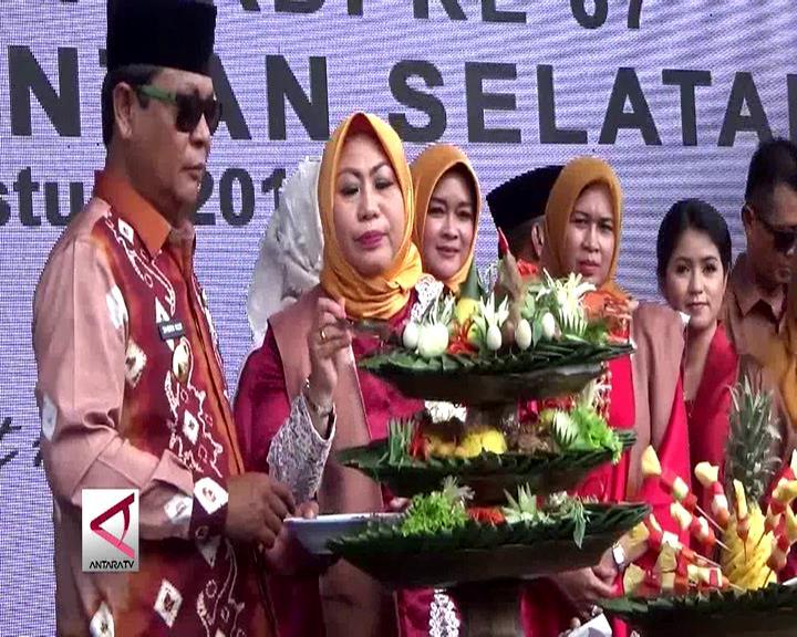 Pesta Rakyat Rayakan Hari Jadi Provinsi Kalsel
