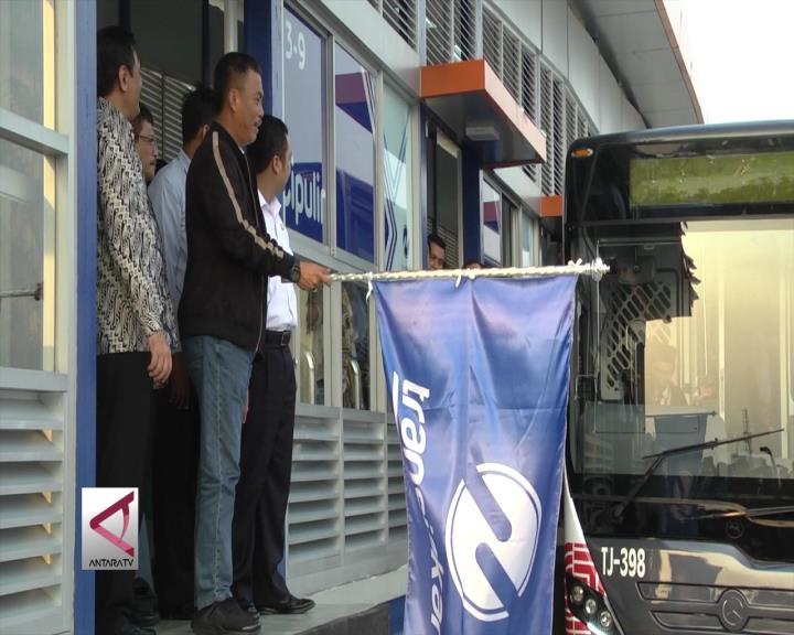 Gubernur DKI Resmikan Koridor 13 Transjakarta