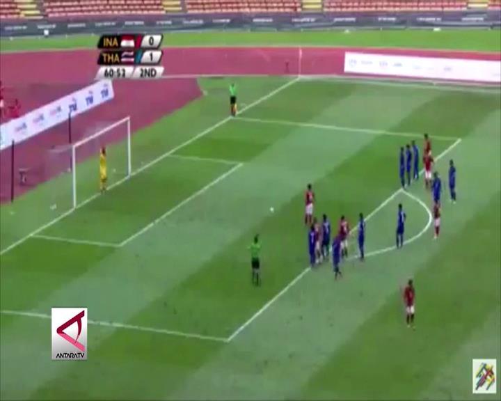 Indonesia Ditahan Imbang Thailand dengan Skor 1-1