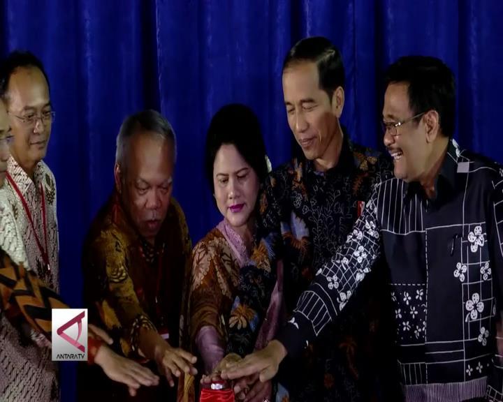 Presiden Resmikan Simpang Susun Semanggi