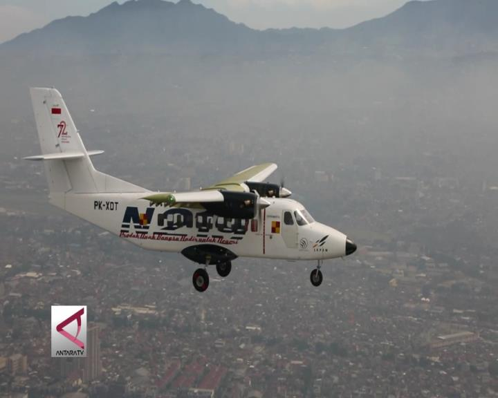 Lapan Rancang Pesawat N-219 Versi Amfibi