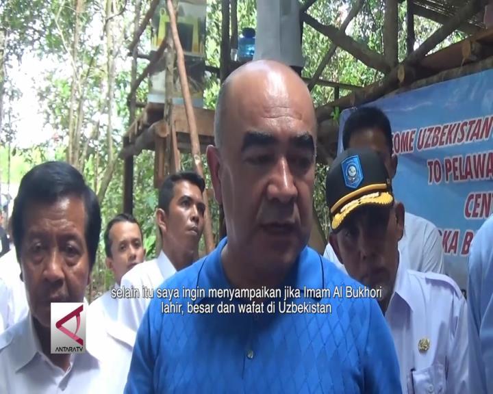 Wakil PM Uzbekistan Kunjungi Kebun Lada