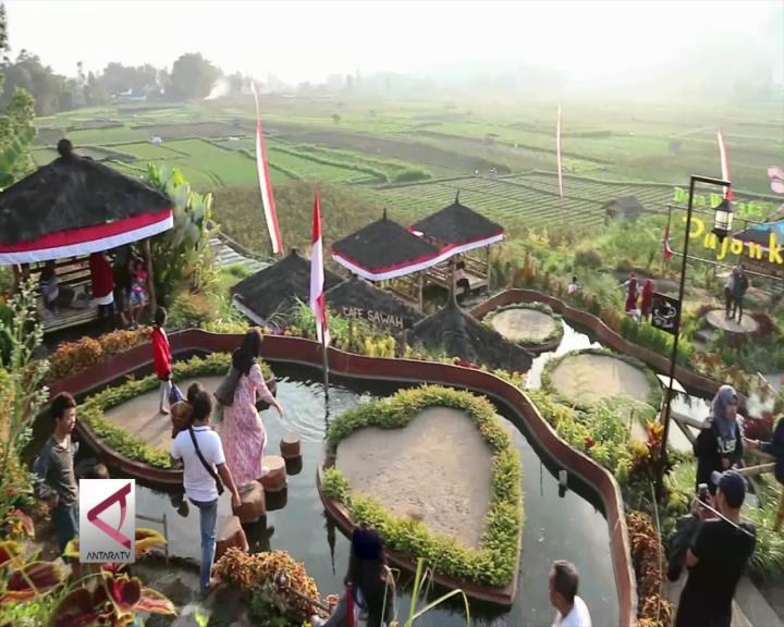 Asrinya Suasana Desa di Pujon Kidul