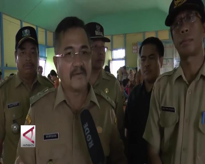 Perlombaan P2WKSS Tingkat Provinsi di Desa Lembah Beringin Kabupaten Sekadau