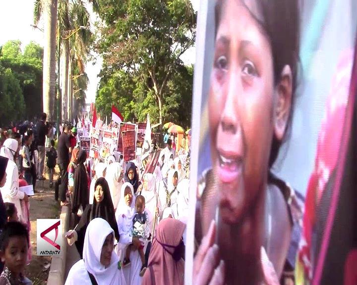 Ormas Islam Lombok Dukung Penyelesaian Tragedi Rohingya