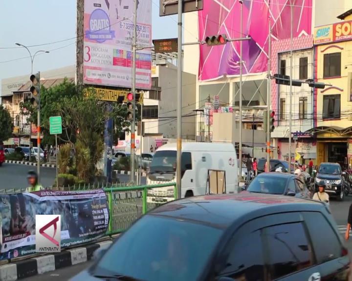 Sistem Satu Arah Jalur Jakarta-Depok Barat