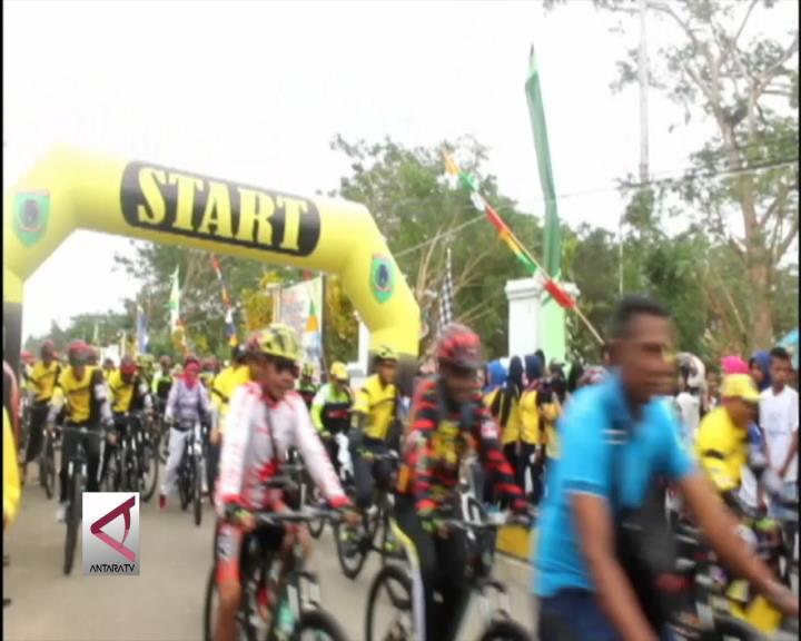 Acara Sepeda Santai Sebagai Persiapan Tour De Molucas Di Maluku