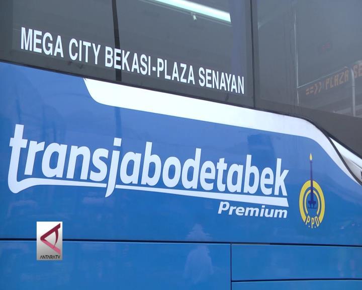 Menhub Ujicoba Bus Transjabodetabek Premium