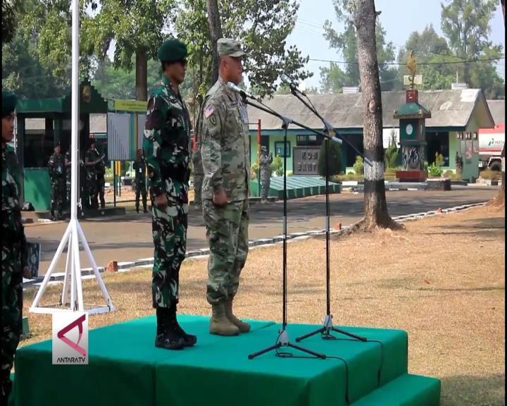 TNI-AD & US Army Gelar Latihan Bersama di Sukabumi