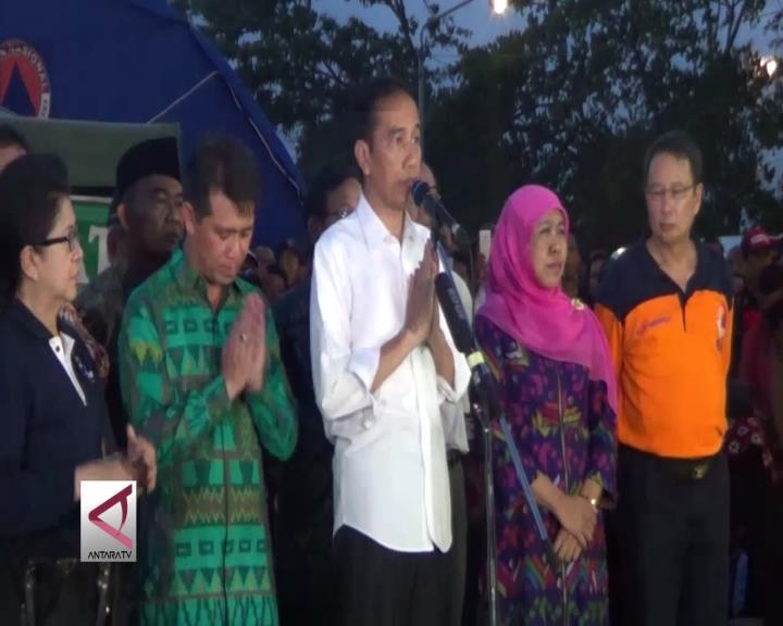 Presiden Minta Pemprov Bali Sigap Layani Pengungsi