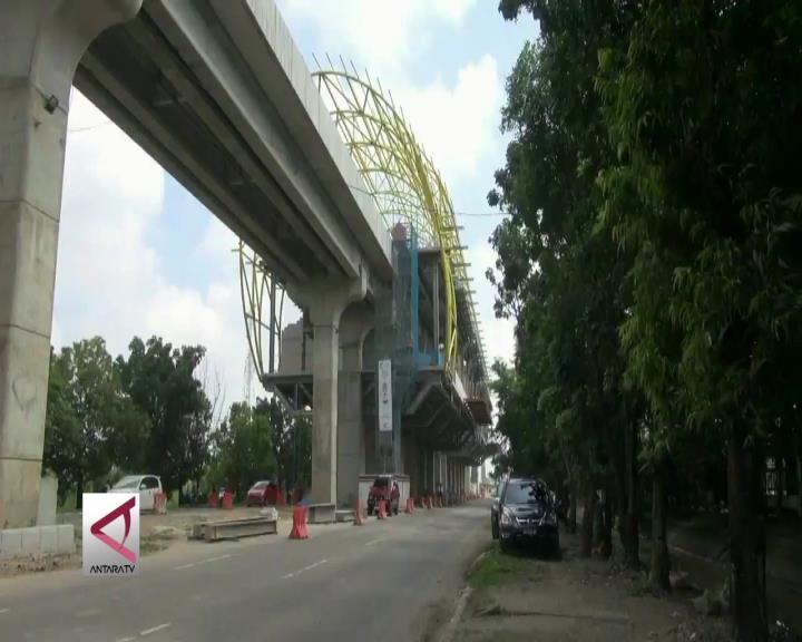 LRT Palembang Akan Miliki 8 Rangkaian Kereta