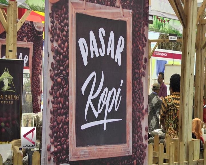 Kopi Indonesia diminati Pasar Internasional