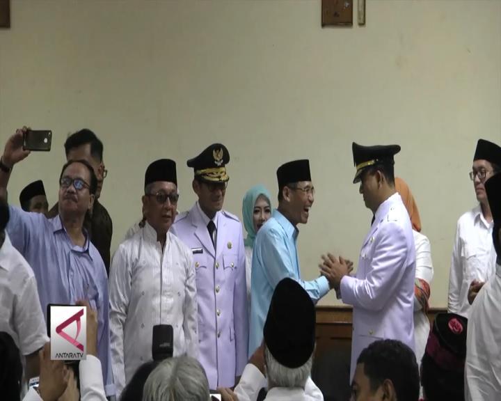 Sebelum Dilantik Anies-Sandi Berkunjung ke Masjid Sunda Kelapa