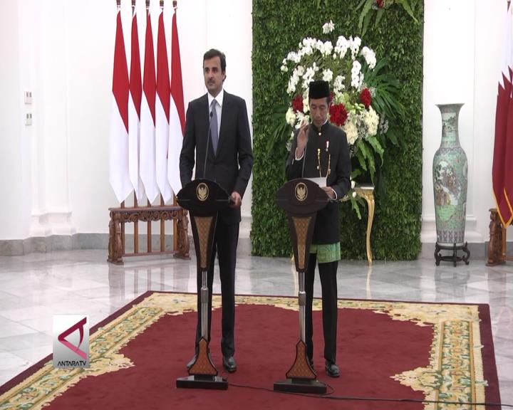 Presiden Jokowi Dorong Qatar Tingkatkan Investasi