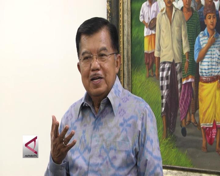 Wapres Nilai Pidato Gubernur DKI Bukan Diskriminatif