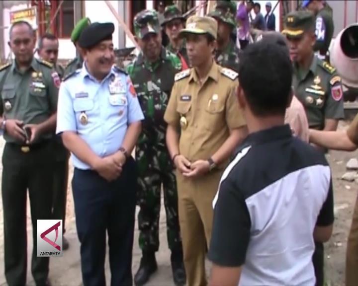 Askomlek Panglima TNI Sidak TMMD di Konawe