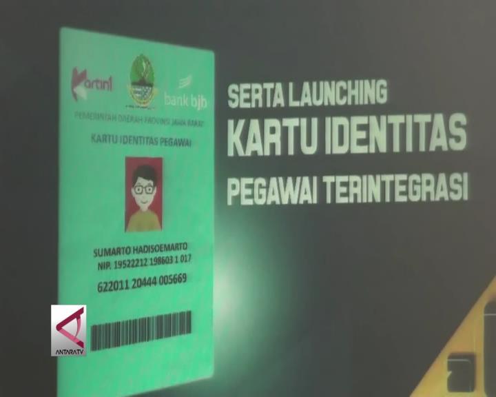 Pemprov Jabar Luncurkan Kartu Identitas Terintegrasi Untuk ASN