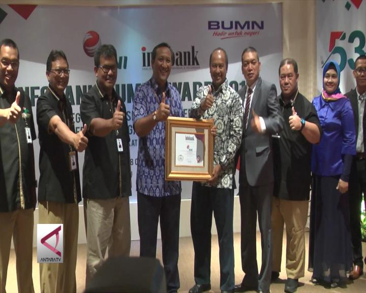 PT RNI Raih Penghargaan Infobank BUMN Award