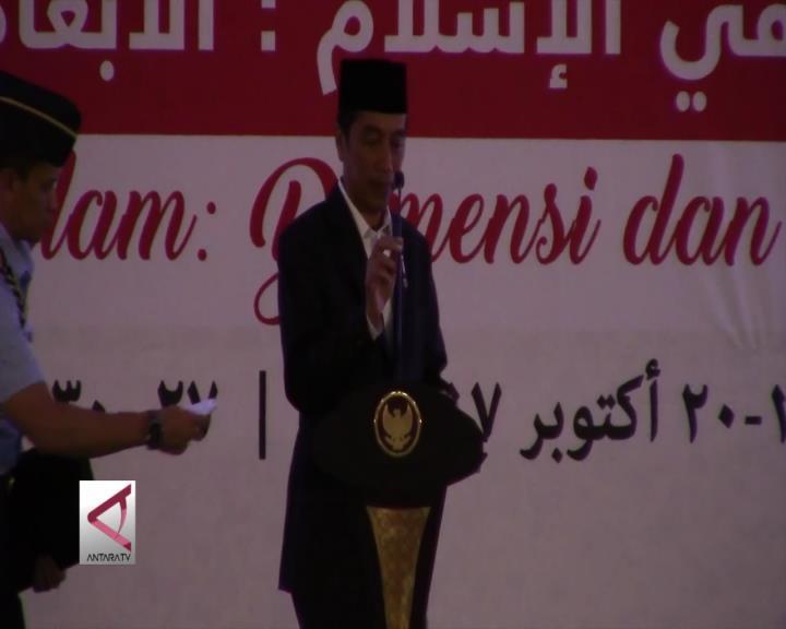Presiden Tutup Pertemuan Alumni Al-Azhar  Kairo