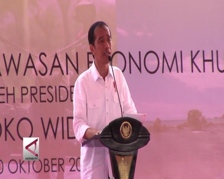 Presiden Joko Widodo Resmikan KEK Mandalika